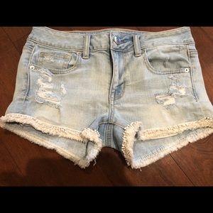 American Eagle Denim Shorts. Size 2.